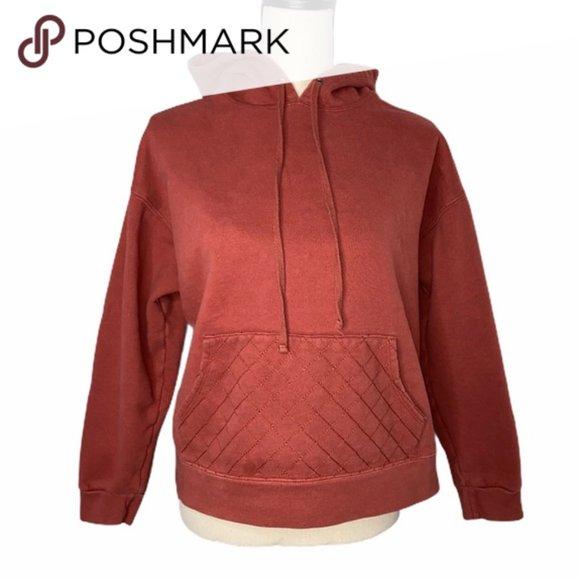 Wild Fable Rust Hooded Sweatshirt